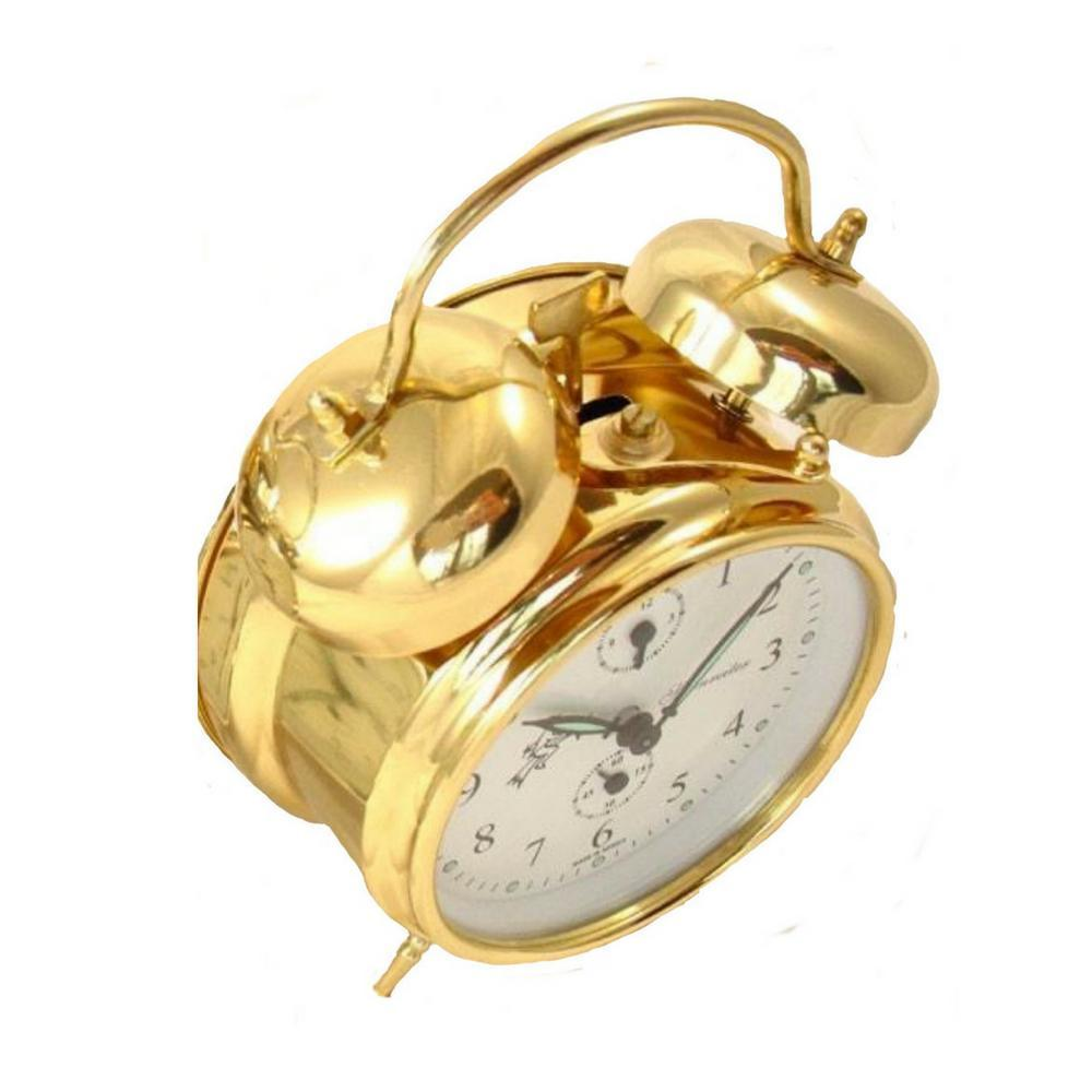 double bell alarm clock